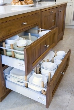 Functional Dish Storage Inspirations For Your Kitchen 41