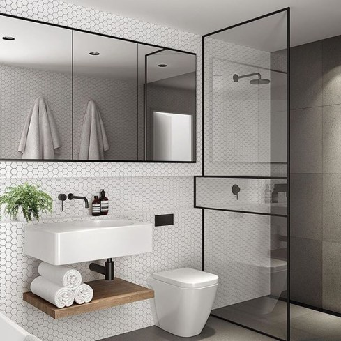 Inspiring Bathrooms With Stunning Details 27