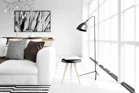 Minimalist Micro Apartment With A Hint Of Color 10