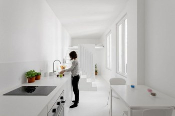 Minimalist Micro Apartment With A Hint Of Color 25
