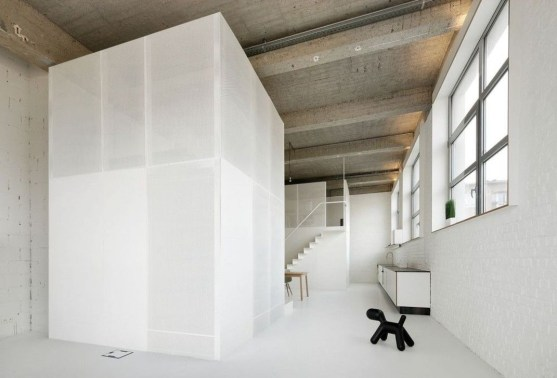 Minimalist Micro Apartment With A Hint Of Color 35