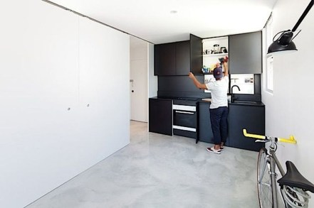 Minimalist Micro Apartment With A Hint Of Color 41