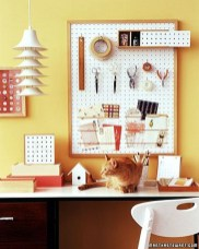 Smart Ways To Organize Your Home With Pegboards 01