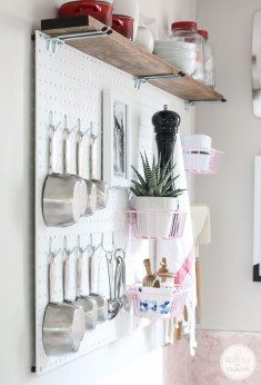 Smart Ways To Organize Your Home With Pegboards 06