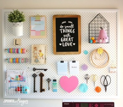 Smart Ways To Organize Your Home With Pegboards 09