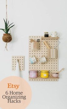 Smart Ways To Organize Your Home With Pegboards 18