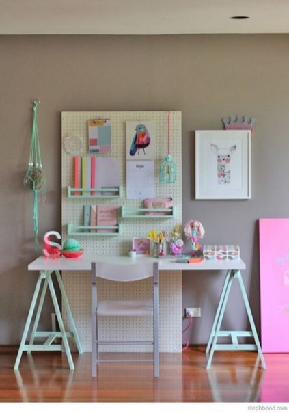 Smart Ways To Organize Your Home With Pegboards 26
