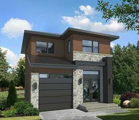 Spectacular Designs Of Minimalist Two Storey House 14