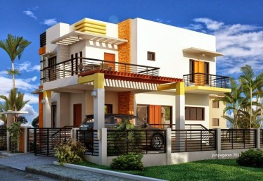 Spectacular Designs Of Minimalist Two Storey House 39