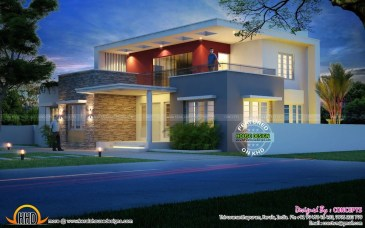 Spectacular Designs Of Minimalist Two Storey House 43