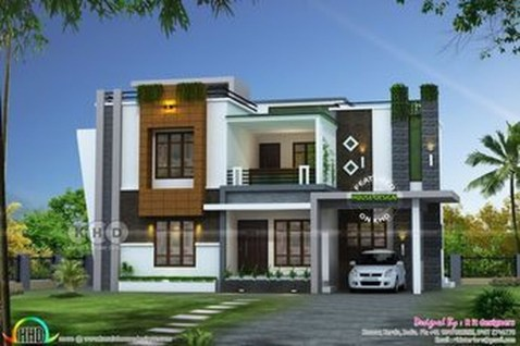 Spectacular Designs Of Minimalist Two Storey House 47