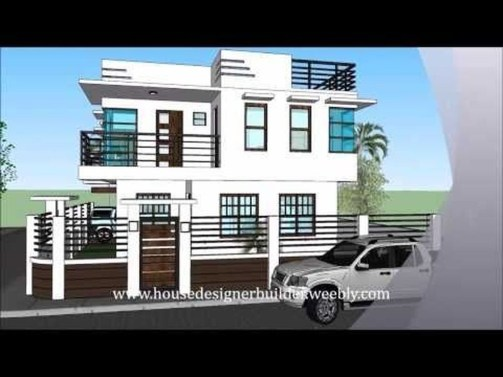 Spectacular Designs Of Minimalist Two Storey House 60
