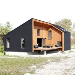 A Wooden House That's Simple On The Outside But Modern On The Inside 12