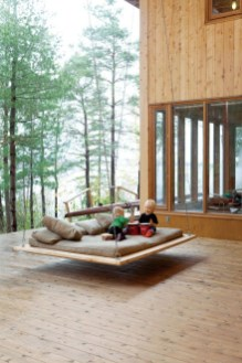 A Wooden House That's Simple On The Outside But Modern On The Inside 16
