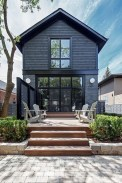 A Wooden House That's Simple On The Outside But Modern On The Inside 45