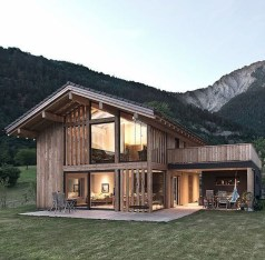 Affordable Wooden Houses For Small Families 23