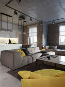 Apartment With Colorful Interior Design 43