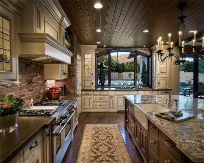Beautiful Kitchen Designs With A Touch Of Wood 20