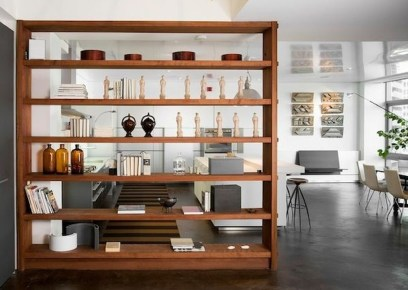 Beautiful Open Kitchens With Unique Partitions And Room Dividers 05
