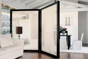 Beautiful Open Kitchens With Unique Partitions And Room Dividers 13