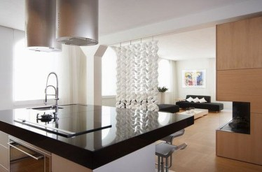 Beautiful Open Kitchens With Unique Partitions And Room Dividers 17