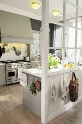 Beautiful Open Kitchens With Unique Partitions And Room Dividers 32