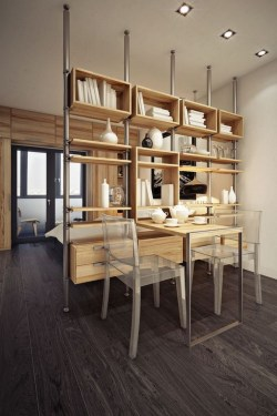 Beautiful Open Kitchens With Unique Partitions And Room Dividers 37