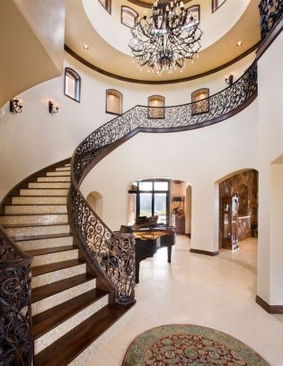 Beautiful Tiled Stairs Designs For Your House 09