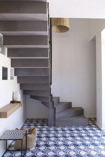 Beautiful Tiled Stairs Designs For Your House 12