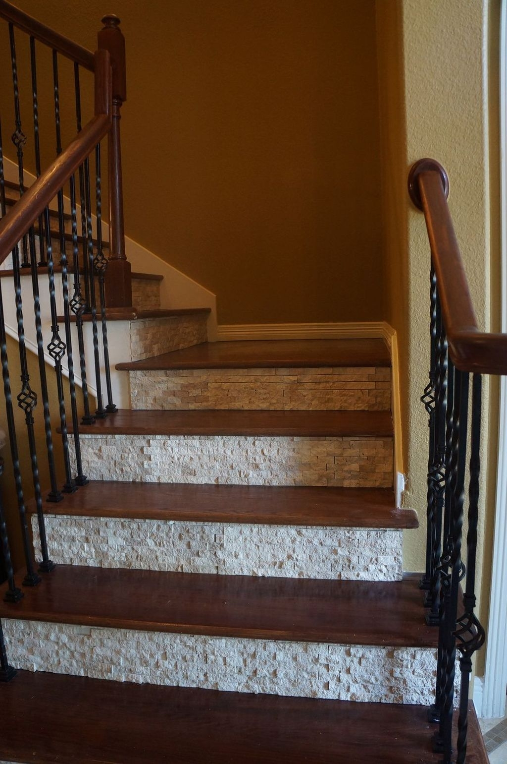 Beautiful Tiled Stairs Designs For Your House 20