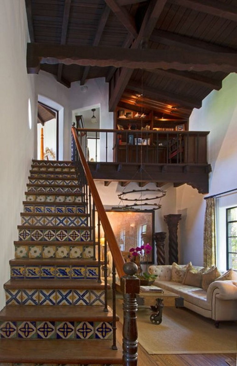 Beautiful Tiled Stairs Designs For Your House 39