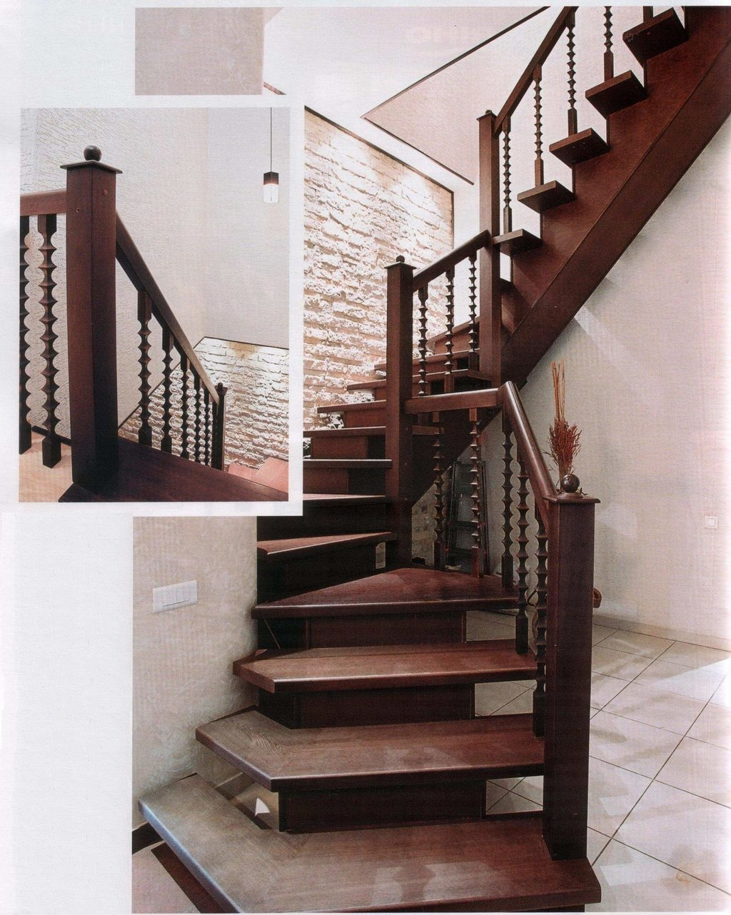 Beautiful Tiled Stairs Designs For Your House 45