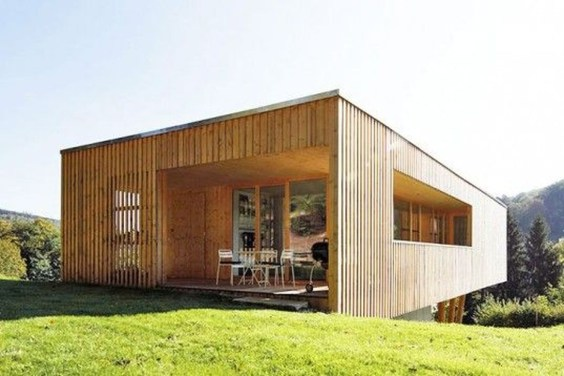 Charming And Minimalist Wooden House 07