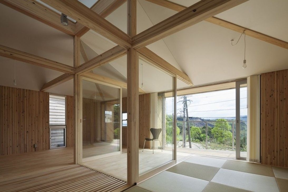 Charming And Minimalist Wooden House 27