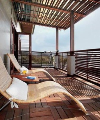Charming And Minimalist Wooden House 41