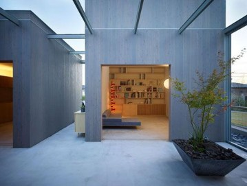 Functional Japanese House For Small Family 16
