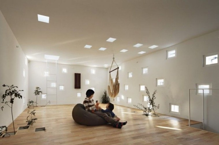 Functional Japanese House For Small Family 25