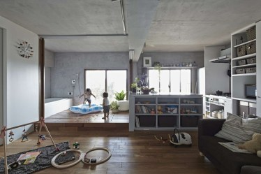 Functional Japanese House For Small Family 26