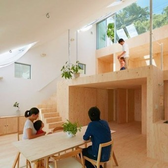 Functional Japanese House For Small Family 31