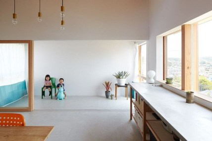 Functional Japanese House For Small Family 46