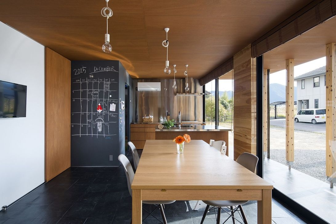 Functional Japanese House For Small Family 47