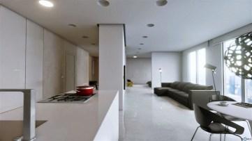 Minimalist Industrial Apartment 16