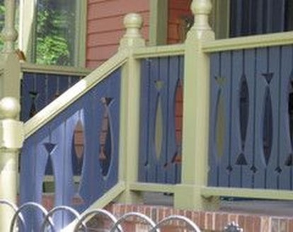 Wood Railing Ideas For Your House Style 09