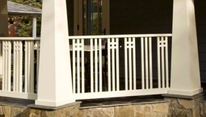 Wood Railing Ideas For Your House Style 14