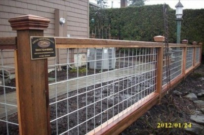 Wood Railing Ideas For Your House Style 19