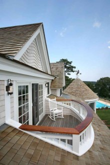 Wood Railing Ideas For Your House Style 29