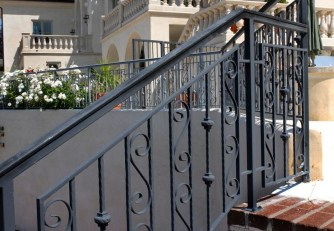 Wood Railing Ideas For Your House Style 34