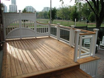 Wood Railing Ideas For Your House Style 37