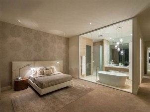 Amazing Bedroom Designs With Bathroom 34