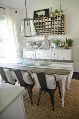 Amazing Farmhouse Kitchen Tables Ideas 05